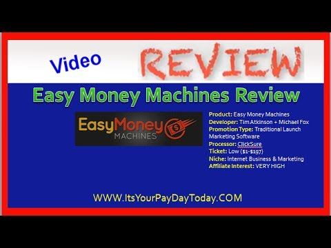Easy Money Machines Review