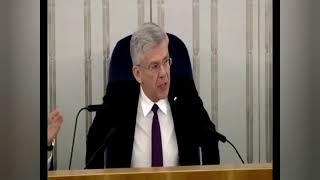 Karczewski:Byłem Marszałkiem otwartym na wszystkie propozycje i uwagi Senatorów PO 😳😳😳