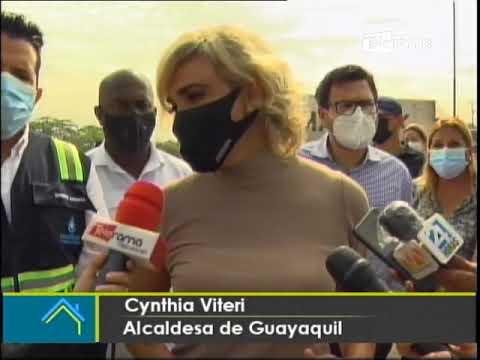 Municipio de Guayaquil inicia construcción de alcantarillado en Paraíso de la flor
