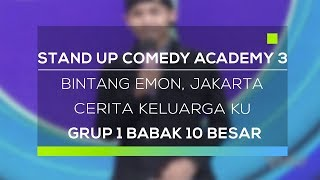 Video Stand Up Comedy Academy 3 : Bintang Emon, Jakarta - Cerita Keluarga Ku MP3, 3GP, MP4, WEBM, AVI, FLV November 2017