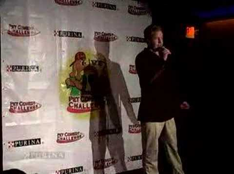 Pet Comedy Challenge finalist- Reggie Walker
