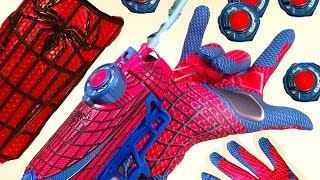Video Web Shooter Toy, The Amazing Spiderman - A Funny Unboxing and Review MP3, 3GP, MP4, WEBM, AVI, FLV Mei 2017