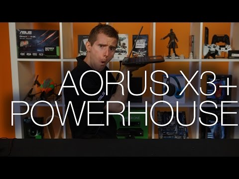 AORUS X3 Plus Ultrathin Gaming Laptop Unboxing and Overview