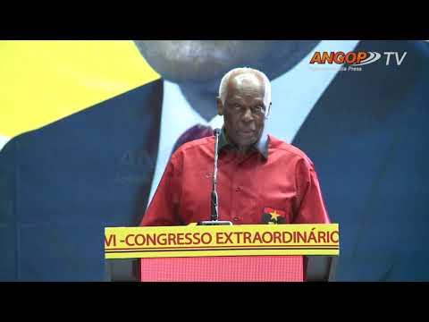 MPLA assegura paz e democracia   José Eduardo  dos Santos (Parte 01)