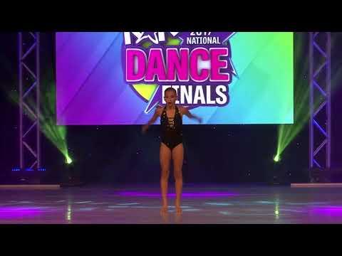 Jennilee Paez Age 13 - Blind As I Am - Open Solo at KAR FINALS 2012 (видео)