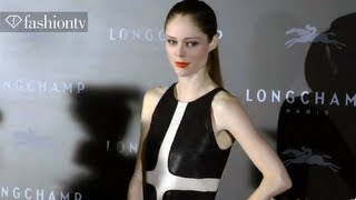 Coco Rocha at Longchamp Hong Kong Opening | FashionTV
