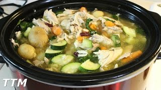In this easy cooking video, I make a chicken vegetable soup, in my Crock-Pot slow cooker, using a whole chicken. The ingredients...
