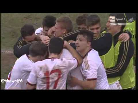 Milan youngster Andrea Petagna scores our Goal of the Day