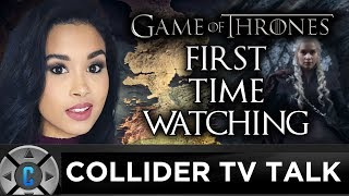 Sinead De Vries watches the Season 7 Premiere of Game of Thrones and gives a candid review. Follow Sinead De Vries: https://twitter.com/sineaddevriesFollow us on Twitter: https://twitter.com/ColliderVideoFollow us on Instagram: https://instagram.com/ColliderVideoFollow us on Facebook: https://facebook.com/colliderdotcomAs the online source for movies, television, breaking news, incisive content, and imminent trends, COLLIDER is a more than essential destination: http://collider.comFollow Collider.com on Twitter: https://twitter.com/ColliderSubscribe to the SCHMOES KNOW channel: https://youtube.com/schmoesknowCollider Show Schedule:- MOVIE TALK: Weekdays  http://bit.ly/29BRtOO- HEROES: Weekdays  http://bit.ly/29F4Job- MOVIE TRIVIA SCHMOEDOWN: Tuesdays & Fridays  http://bit.ly/29C2iRV - TV TALK: Mondays  http://bit.ly/29BR7Yi - COMIC BOOK SHOPPING: Wednesdays  http://bit.ly/2spC8Nn- JEDI COUNCIL: Thursdays  http://bit.ly/29v5wVi - COLLIDER NEWS WITH KEN NAPZOK: Weekdays  http://bit.ly/2t9dNIE- BEST MOVIES ON NETFLIX RIGHT NOW: Fridays  http://bit.ly/2txP3gn- BEHIND THE SCENES & BLOOPERS: Saturdays  http://bit.ly/2kuLuyI- MAILBAG: Weekends  http://bit.ly/29UsKsd