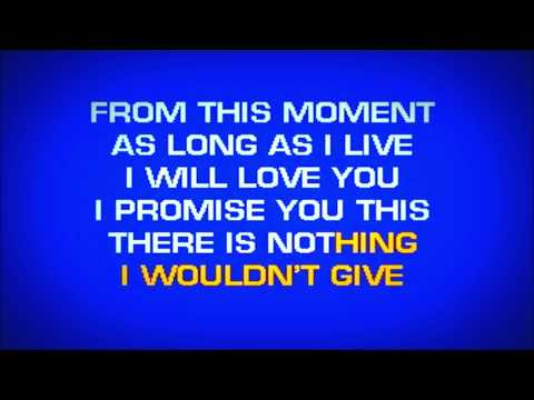 Shania Twain - From This Moment On (Karaoke HD)