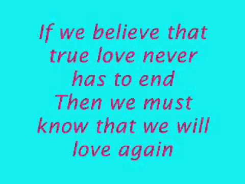 I still believe – Mariah Carey & Celine Dion [lyrics]