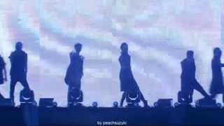 빅스(VIXX) - Steel Heart(Intro) + Error Teaser @ 140123 Seoul Music Awards dance mix Ver.