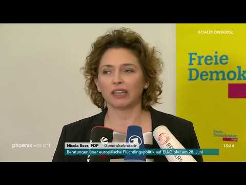 Statements von FDP, Grünen und Linken um Streit in de ...