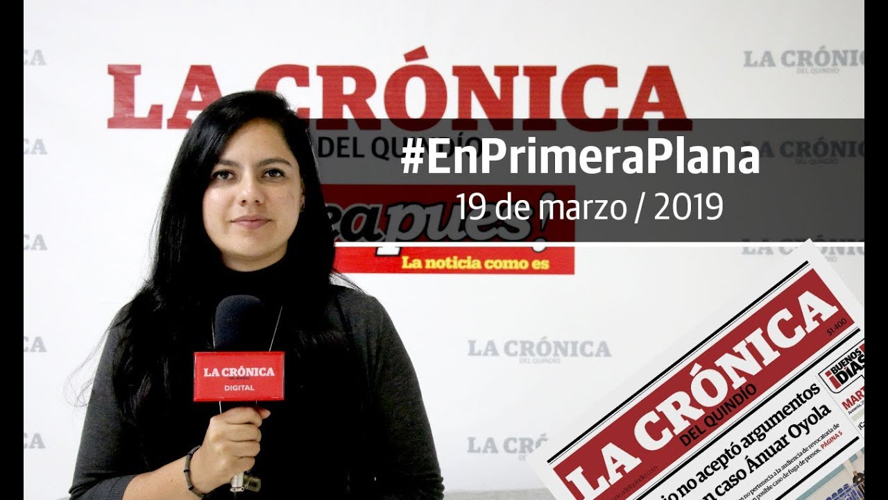 En Primera Plana: lo que será noticia este martes 19 de marzo