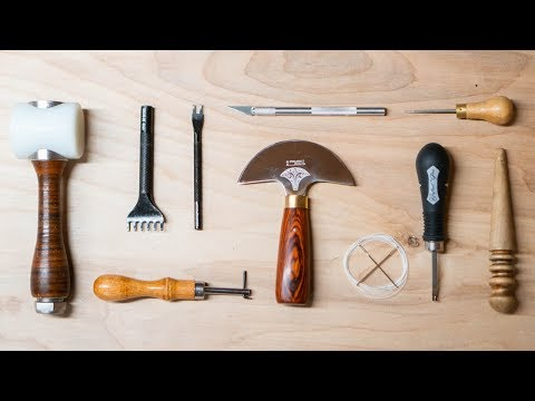 10 Basic Tools Every Beginner Leather Craftsman Should Have