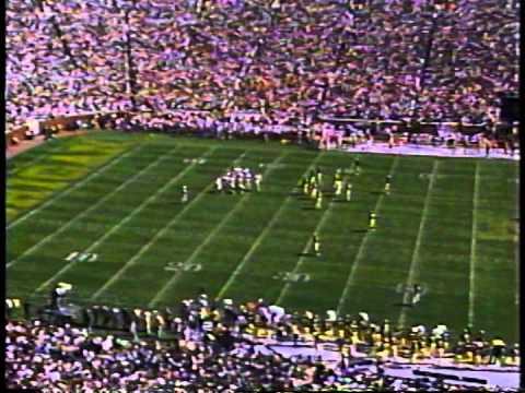 1991 #1 Florida State vs #3 Michigan first half