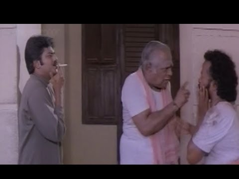Vivek, M. S. Viswanathan Comedy – Kadhal Mannan Tamil Movie Scene – No smoking