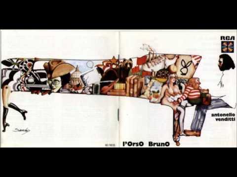 , title : 'E li ponti so' soli - Antonello Venditti - L'orso Bruno (1973) - 01'