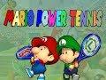 Mario Power Tennis gamecube