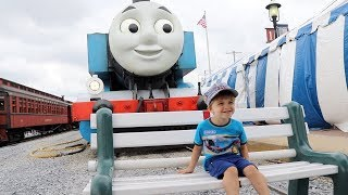 OUR DAY OUT WITH THOMAS FAMILY VLOG!
