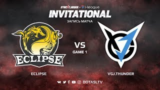 Eclipse против VGJ.Thunder, Первая карта, SL i-League Invitational S4 Китайская Квалификация