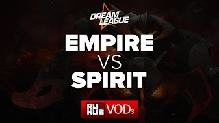 Spirit vs Empire, game 1