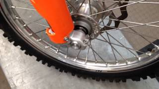7. How to Install a KTM/Husaberg Front Axle