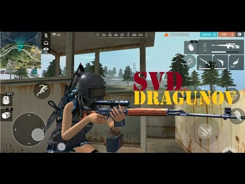 SVD ADA DI AIR DROOP?? - FREE FIRE BATTLEGROUND
