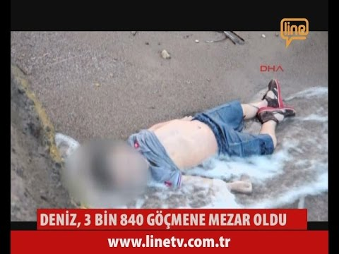 Deniz, 3840 Göçmene Mezar Oldu  -22 Eylül 2015-