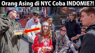 Video NYC Strangers Try INDOMIE for the First Time?! (Indonesian Instant Noodles) MP3, 3GP, MP4, WEBM, AVI, FLV Agustus 2019