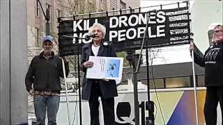 Say No to Drones Dorli Rainey Speaks