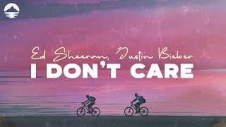 "Video Ed Sheeran, Justin Bieber ""I Don't Care""  (Lyrics) MP3, 3GP, MP4, WEBM, AVI, FLV Juli 2019"