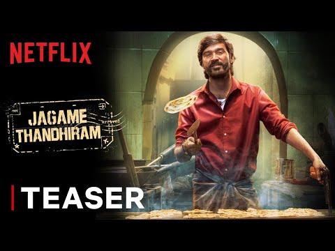 தனுஷின்  ஜகமே தந்திரம் திரைப்பட Teaser - Jagame Thandhiram | Teaser | Dhanush, Aishwarya Lekshmi | Karthik Subbaraj | Netflix India