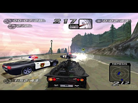 Need for Speed: High Stakes PS1 Gameplay HD (Beetle PSX HW)