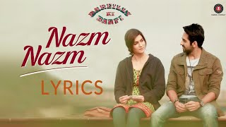 Video Tu Nazm Nazm sa mere | Full Song | Lyrics | Bareilly Ki Barfi | Ayushmann Khurrana | Watch It Now download in MP3, 3GP, MP4, WEBM, AVI, FLV January 2017