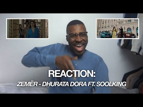 Reaction | Dhurata Dora Ft. Soolking - ZemËr (official Music Video) | Babatunde