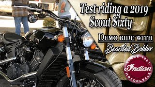 7. 2019 Indian Scout Sixty test ride with the Bearded Bobber (underrated bike)