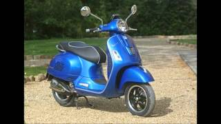5. 2015 Vespa GTS 300 Super ABS Review, as it's a little more powerful than other Vespa scooters