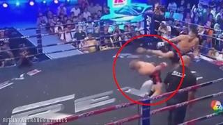 """Unik rodem z """"Matrixa!"""" Ten zawodnik zaprzeczył prawom fizyki podczas walki!"""