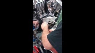 7. 🎇 Stage 2 Performance Cams being installed on an Indian Chief Vintage
