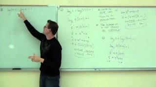 Intermediate Algebra Lecture 12.7