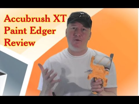 $99 Accubrush XT Paint Edger vs. Traditional Painting Techniques (видео)