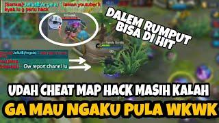 Video UDAH PAKE CHEAT MAP HACK KALAH LAGI DITAMBAH GA MAU NGAKU - Mobile Legends MP3, 3GP, MP4, WEBM, AVI, FLV November 2018