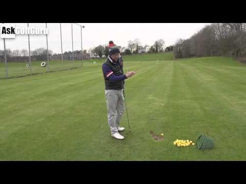 Golf Lesson Club Path To Far Right