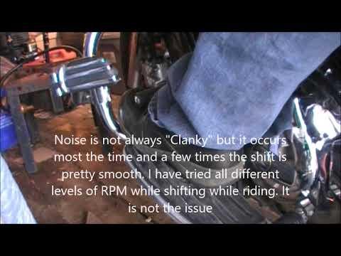 Yamaha V Star 1100 Classic - Gear shifting