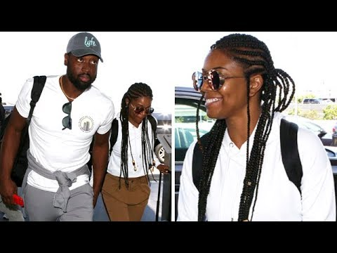 Gabrielle Union And Hubby, Dwayne Wade, Take A Vacation