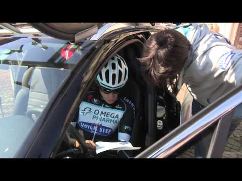 Video: Omega Pharma-QuickStep Giro d'Italia time trial recon