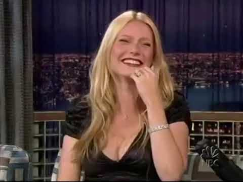 Gwyneth Paltrow can't stop laughing at Conan's British impression