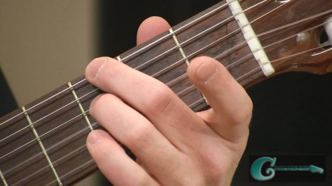 Silent Night – Christmas Carol Guitar Lesson