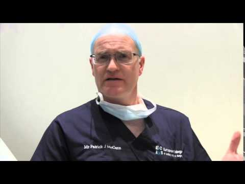 ECAMS Master course in suture (thread) listing techniques - Video Testimonial - Mr Patrick McCann